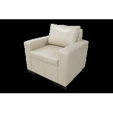 Sofá blanco cuero - 1 Cuerpo