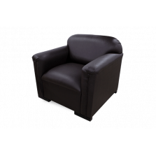 Sofá Jack negro 1 Cuerpo